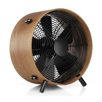 Electric fan in a wooden case
